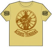 "Image of Across Tundras ""BUCK OFF"" hand screened t shirt"