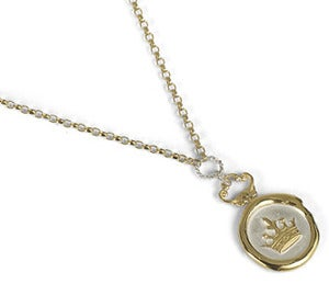 Image of Crown Wax Seal Necklace