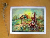 Image of Summer Day, Large Original Print