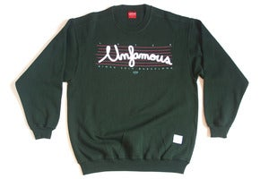 Image of Unfamous Sweatshirt Forest Green