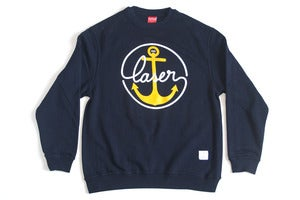 Image of Sail Home Sweatshirt navy