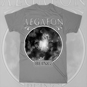 Image of Gray &quot;Being&quot; Tee