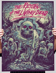 Image of SOLD OUT- Return of the Living Dead AP.