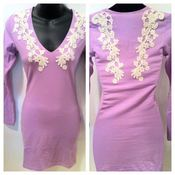 Image of Ginetta bodycon dress with lace