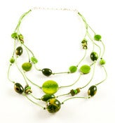 Image of Fiesta Necklace Green