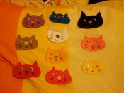 Image of Felt Pretty Kitty Patches