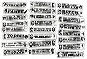 Image of DR. DRE STICKERS