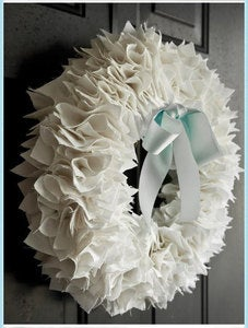 Image of Luxe Fabric Wreath