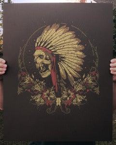 "Image of ""Mescal Rite"" - Limited Edition Art Print"