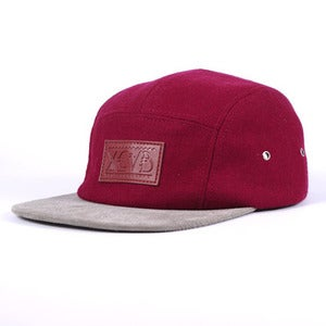 Image of XCVB - Huntsman 5 Panel Cap Cardinal