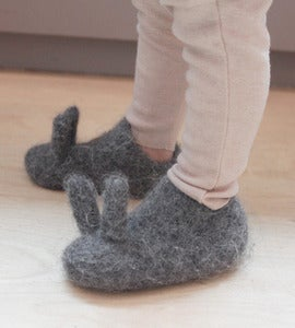 Image of Oui Presse Infant Bunny Slippers