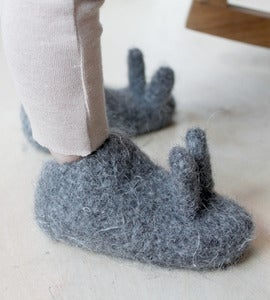 Image of Oui Presse Children's Bunny Slippers