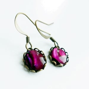 Image of Decadence Earrings (purple)
