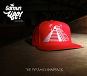 Image of THE PYRAMID SNAPBACK (red)