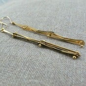 Image of bone earrings