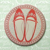 Image of Favourite Shoes Drink Coaster