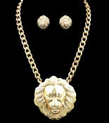 Image of Big Lionness Necklace (More colors available)