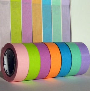 Image of Bright Colours Washi Tapes