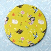 Image of Autumn Cottage Drink Coaster