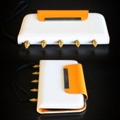 Image of Samsung Galaxy 3 Creamsicle Palm Wallet (FREE SHIPPING)