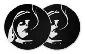 Image of Blunted Astronaut Slipmats (Black)