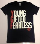 Image of YGF Slogan T-shirt [Black]