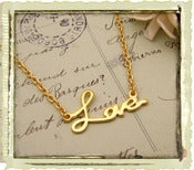Jewelry: &quot;Love&quot;