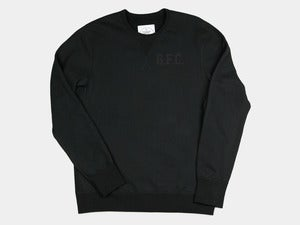 Image of Gastown F.C. by Reigning Champ&lt;br&gt;Black Training Crewneck