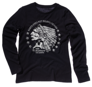 Image of EARTH DOES NOT BELONG TO MAN - LONG SLEEVE