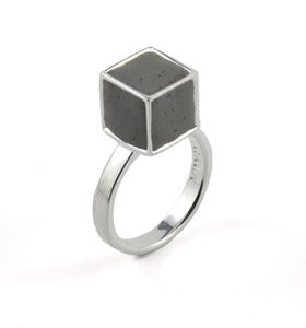 Image of Semblance Ring Stone/Silver