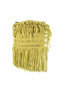 Image of NOMMOS Neon Macrame Tassel Clutch