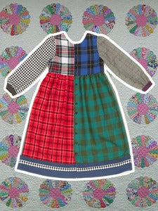 Image of Cosy pinafore 1 (UK 10)