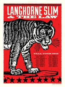 Image of Langhorne Slim Fall Tour 2012