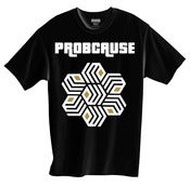 Image of ProbCause two-tone logo (Black )