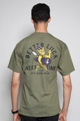 Image of Better Luck Next Time Tee in Military Green