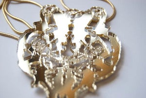 Image of Necklace : Gold Mirror