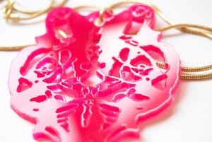 Image of Necklace : Pink