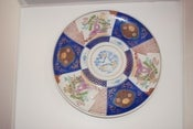 Image of Large Chinoiserie Imari Platter
