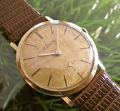 Image of VINTAGE LECOULTRE MANUAL 18K GOLD- SOLD