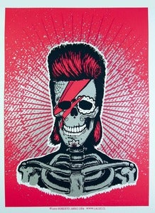Image of EL ZIGGY three color screenprint