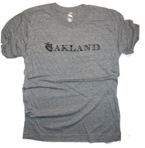 Image of I heart Oakland tee