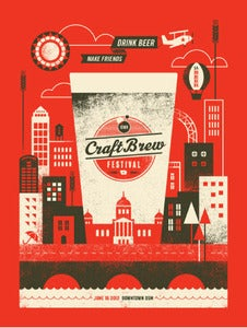 Image of Basemint Craft Brew Fest Poster