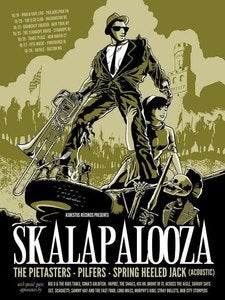 Image of Skalapalooza 2012 Screened Tour Print