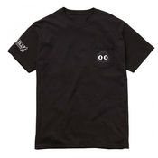 Image of Stay Protected Pocket Tee - Black