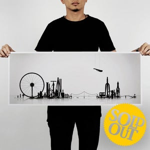 "Image of Cityscape<br><span style=""font-weight:normal""><em>by 100copies</em></span>"
