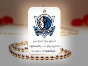 Image of Dallas Mavericks NBA Necklace