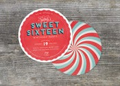 Image of Candy Shop Party Invitation (10)