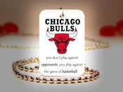 Image of Chicago Bulls NBA Necklace