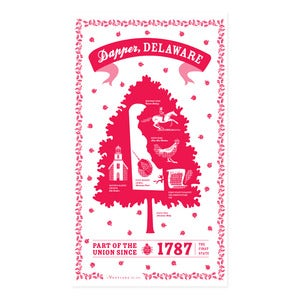 Image of Delaware State Towel