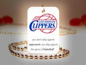 Image of Los Angeles Clippers NBA Necklace